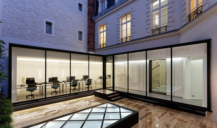 Dior homme office by antonio virga architecte paris france office
