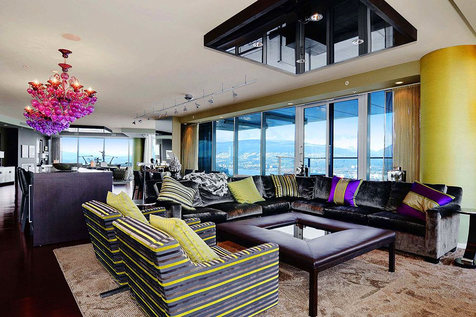 Lovely Interior2 Luxury In Vancouver With Stunning Panoramic Views Worth 21 000