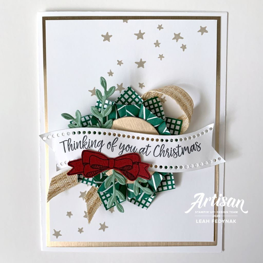 Handmade Cards Using 2021 Christmas Dsp From Stampin Up Stampin Up Artisan Design Team Blog Hop Curvy Celebrations Curvy Christmas Stamp Set Cu In 2021 Stampin Up Christmas Cards Christmas Cards To Make Cards Handmade