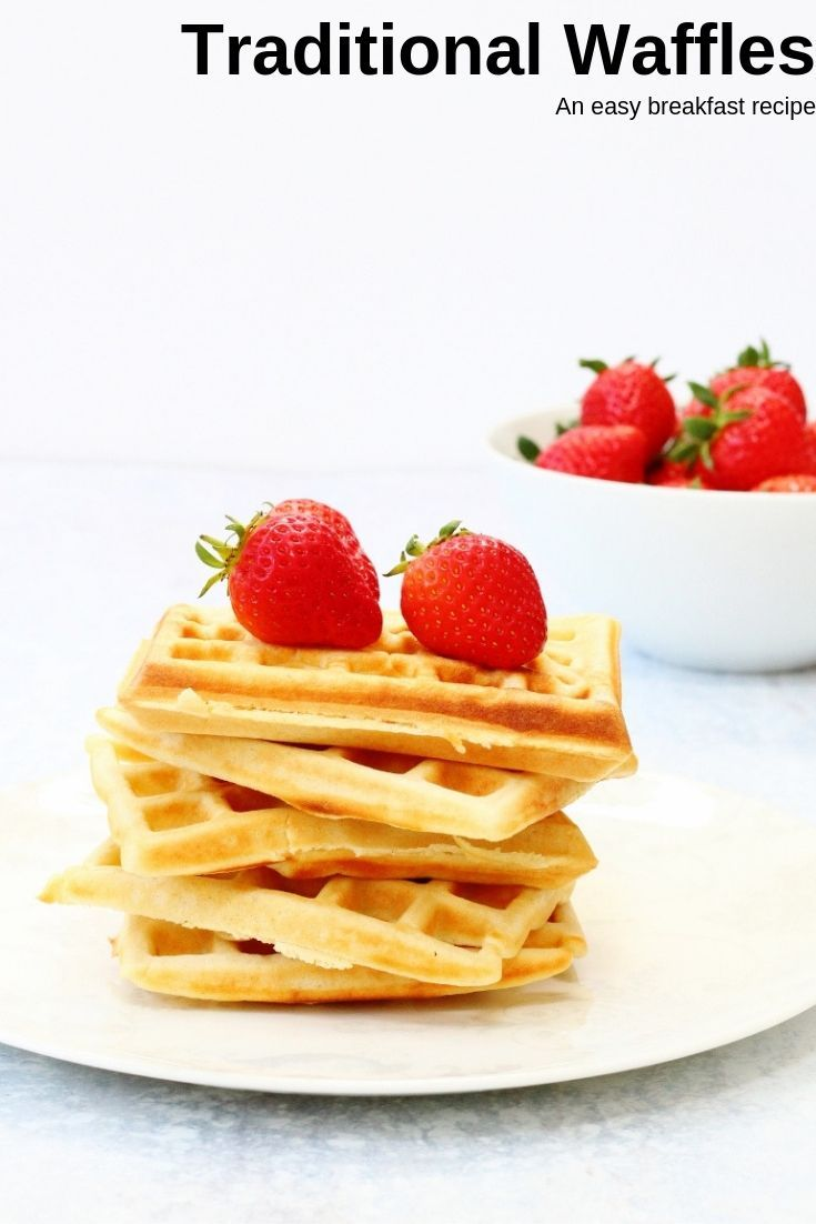 Traditional Waffles - An Easy Breakfast Recipe images