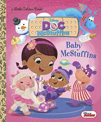 Baby Mcstuffins Disney Junior Doc Mcstuffins Little Golden Book Little Golden Books Disney Junior American Baby