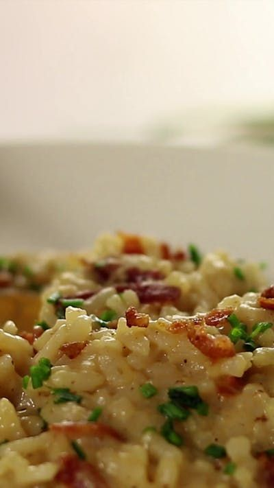 Photo of Beer and Bacon Risotto