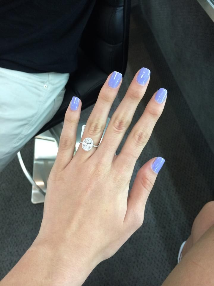 tried on my dream ring today Ahhh 2-3 carats E colorless ...