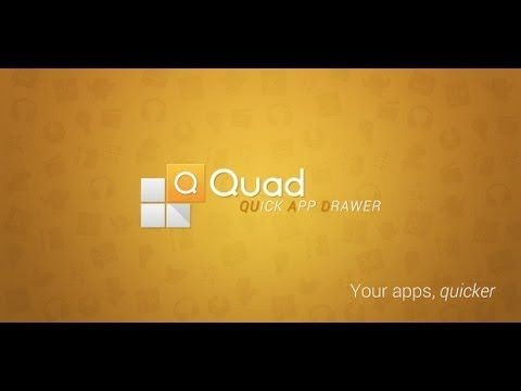 Quad App Drawer - YouTube