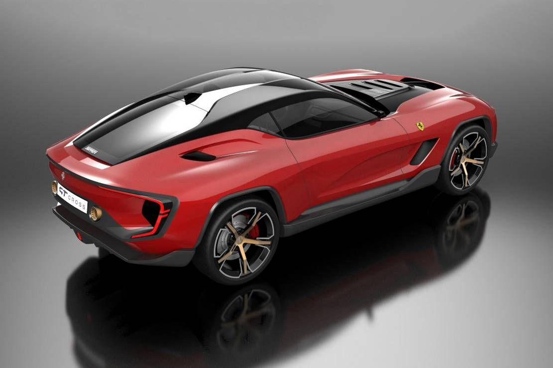 Ferrari Gt Cross Suv Concept Wordlesstech In 2020 Ferrari Suv Racing