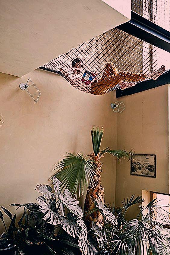 Photo of Loungeplek op een net   HOMEASE