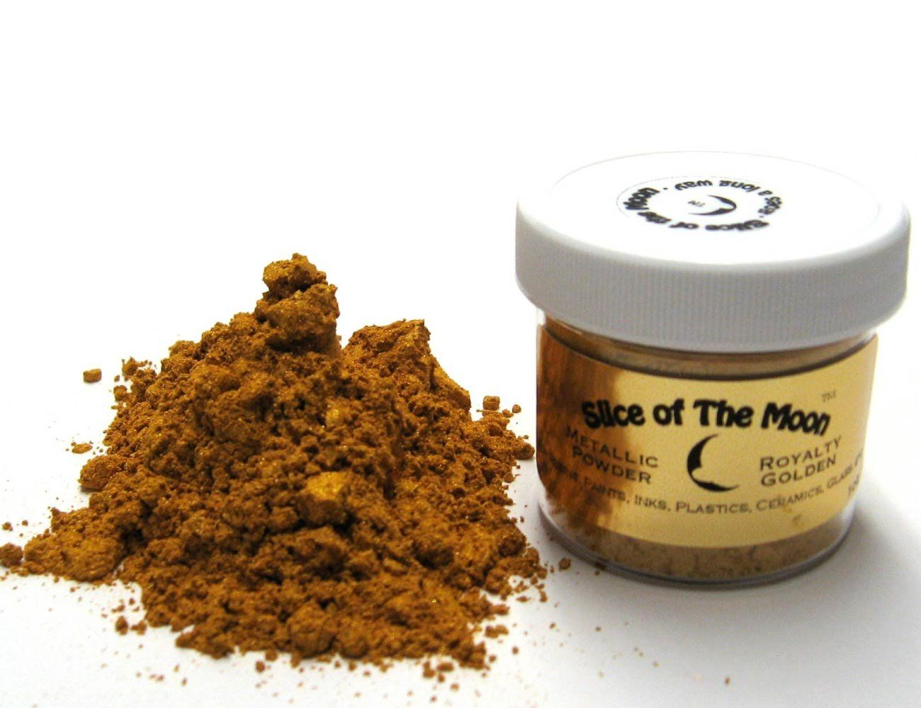 Amazon.com: Royalty Golden Mica Powder 1oz, Gold Metallic Powder, Cosmetic Mica, Slice of the Moon: Electronics