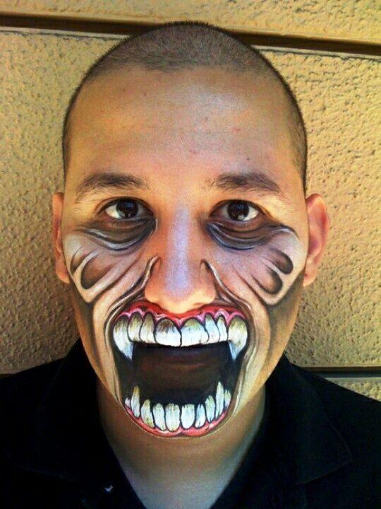 30 Halloween Makeup Ideas for Men Halloween makeup, Makeup and - halloween horror makeup ideas
