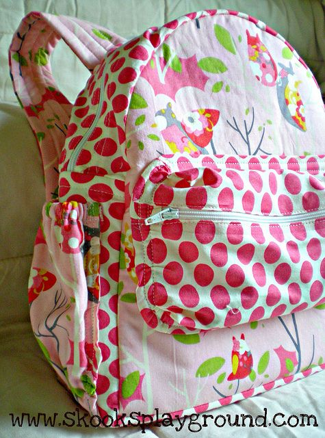Pattern review for the Mason backpack pattern I've had my eye on by SkooksPlayground
