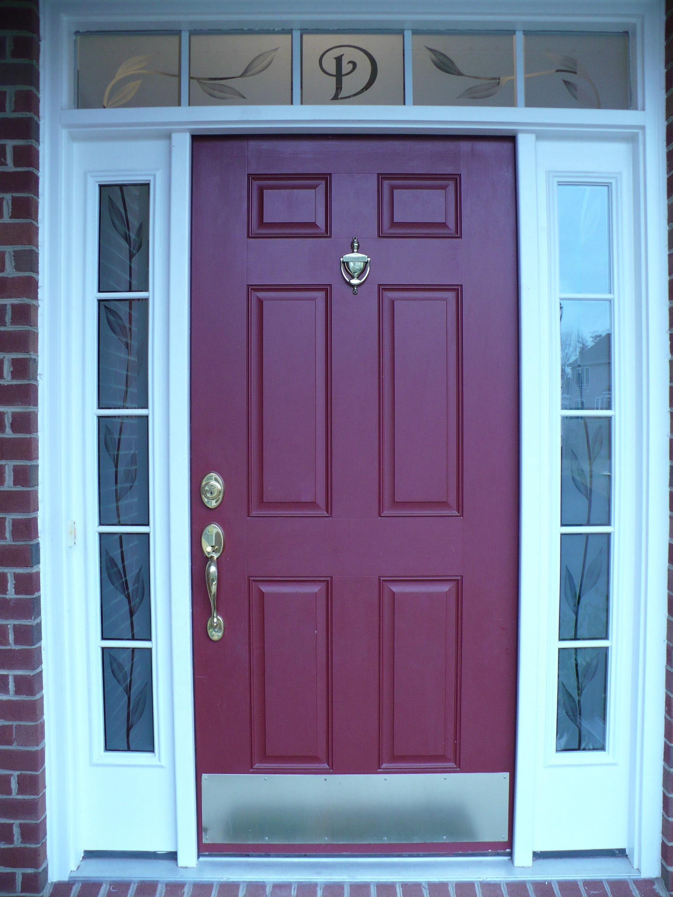 Exterior Door Glass Side Panels