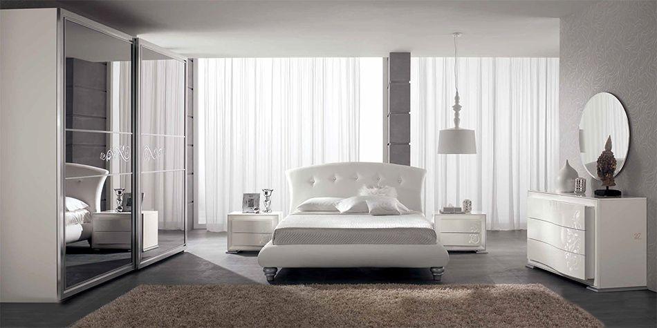 Gruppo spar mobili si riserva di apportare in qualsiasi momento,. Neoclassical Italian Bed Bedroom Luna 03 By Spar Contemporary Bedroom Sets Top Quality Bedroom Furniture Italian Bed