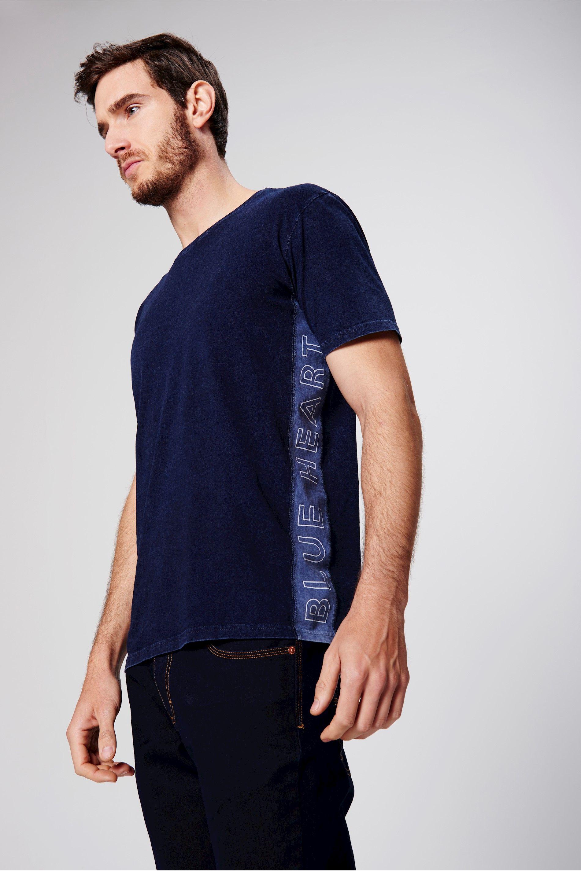 c045257702e Camiseta com Recortes Laterais Masculina - Damyller-smartphone ...