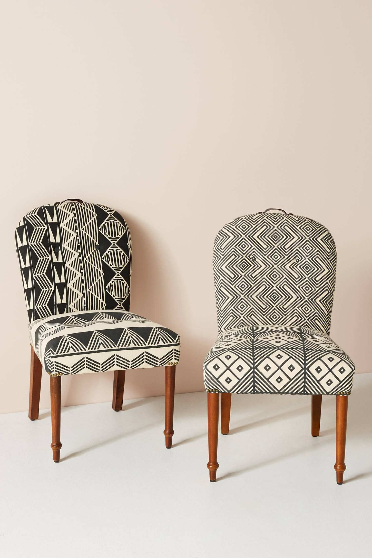 Ulla Dining Chair by Anthropologie in Black Size: All ...
