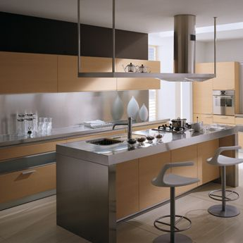Tess. Un ambiente cucina elegante e prestigioso | Isola cucina ...