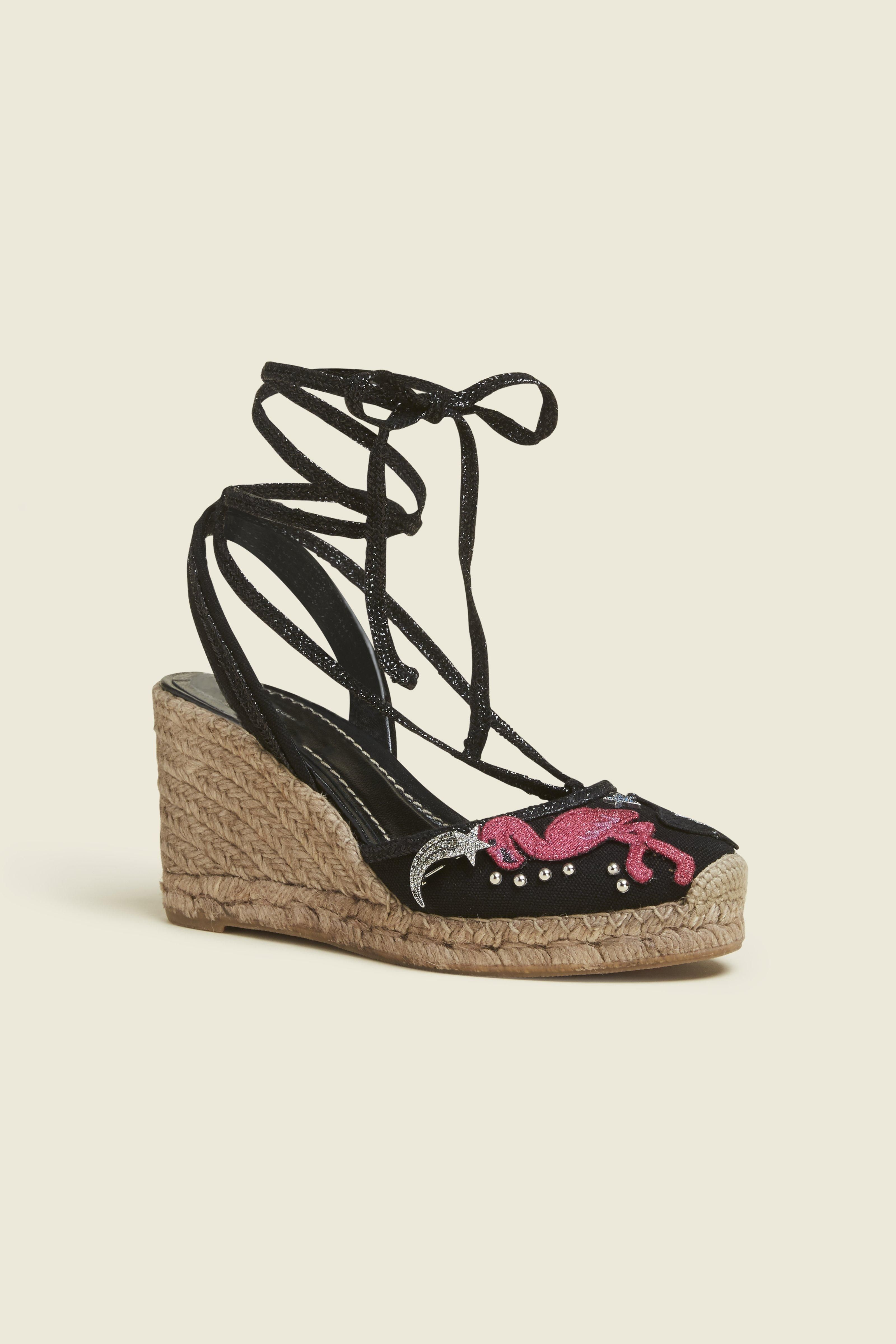 MARC JACOBS Nathalie Wedge Espadrille. #marcjacobs #shoes #