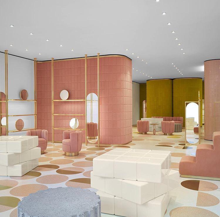 Color In Interior Design Model f06ca98cf913557f67eb7731e301a60a (750×740) | 商业空间(展示