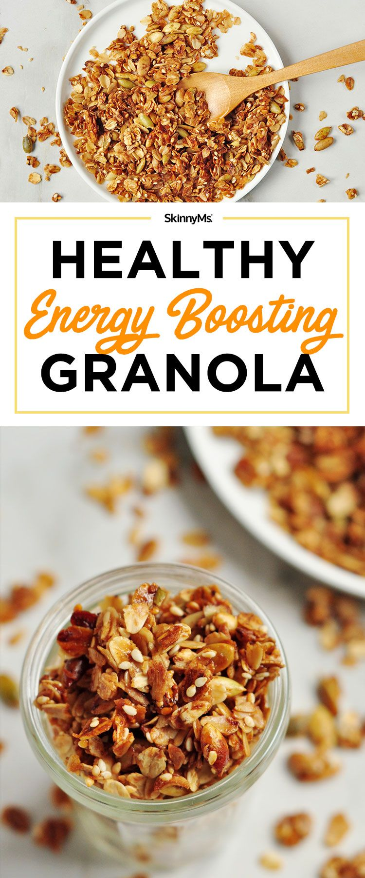 Healthier Energy-Boosting Granola Recipe recommendations