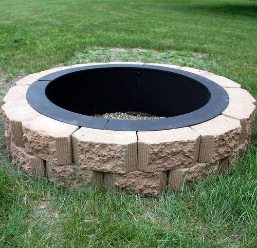 Fire pit liner - Fire Pit Liner Fire Pit Pinterest Fire Pit Liner