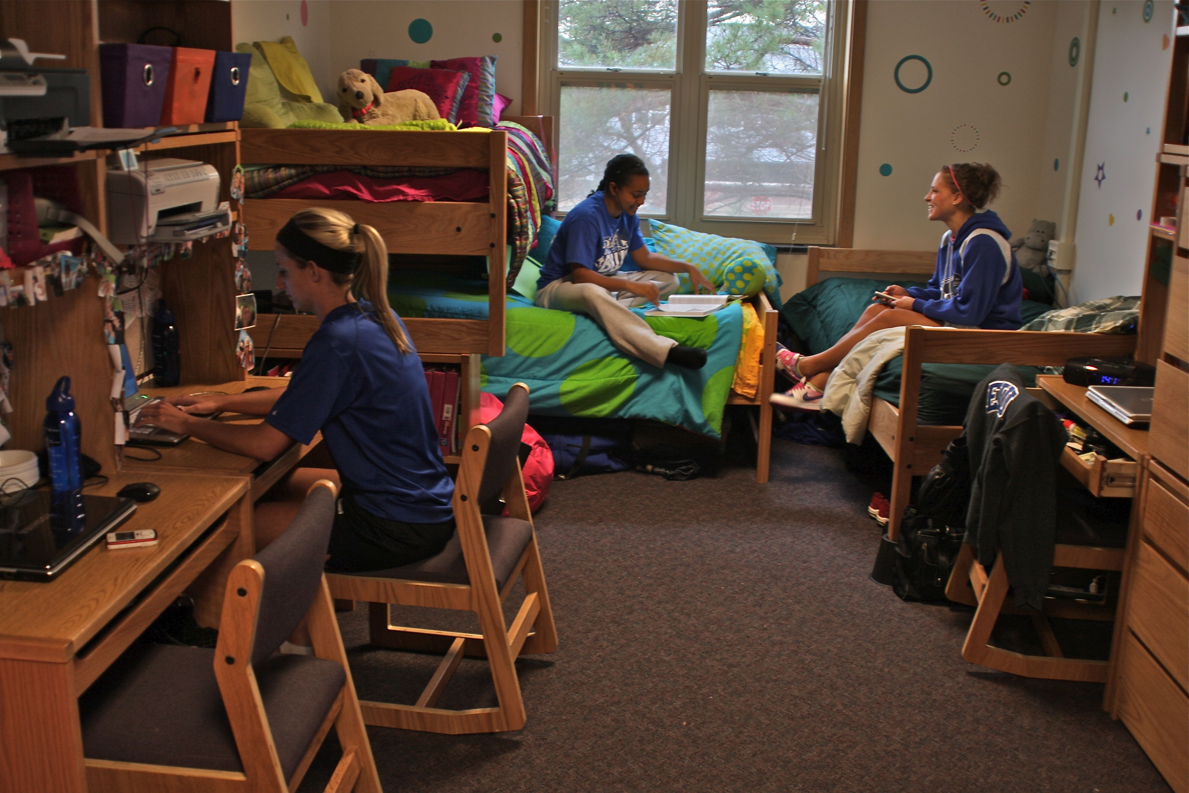 Dorm Rooms At Illinois State University