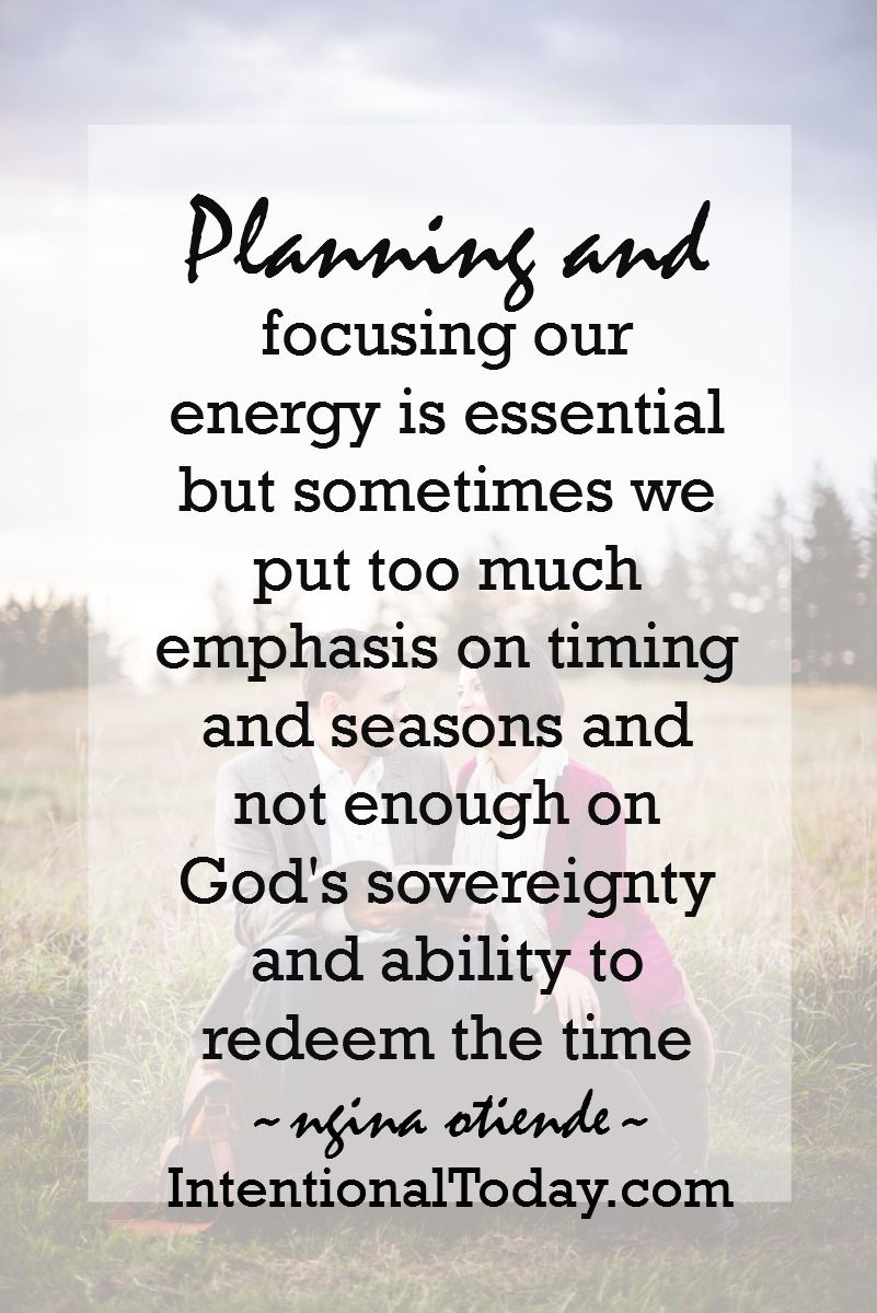 Anxious about 2017? Remember that God does not operate on yearly ...