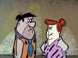 Fred has a hard time loving his mother-in-law. Hence the phrase he said  repeatedly 'I love my mother-… | Flintstones, Classic cartoon characters,  Flintstone cartoon