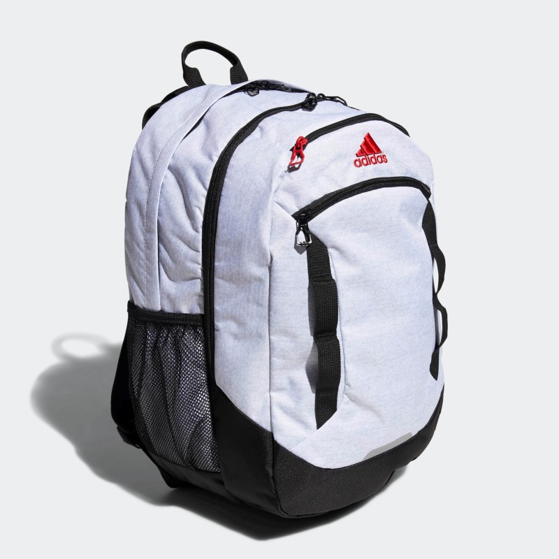 787eeaad0a Adidas Excel IV Backpack Accessories (Light Grey Black Red ...