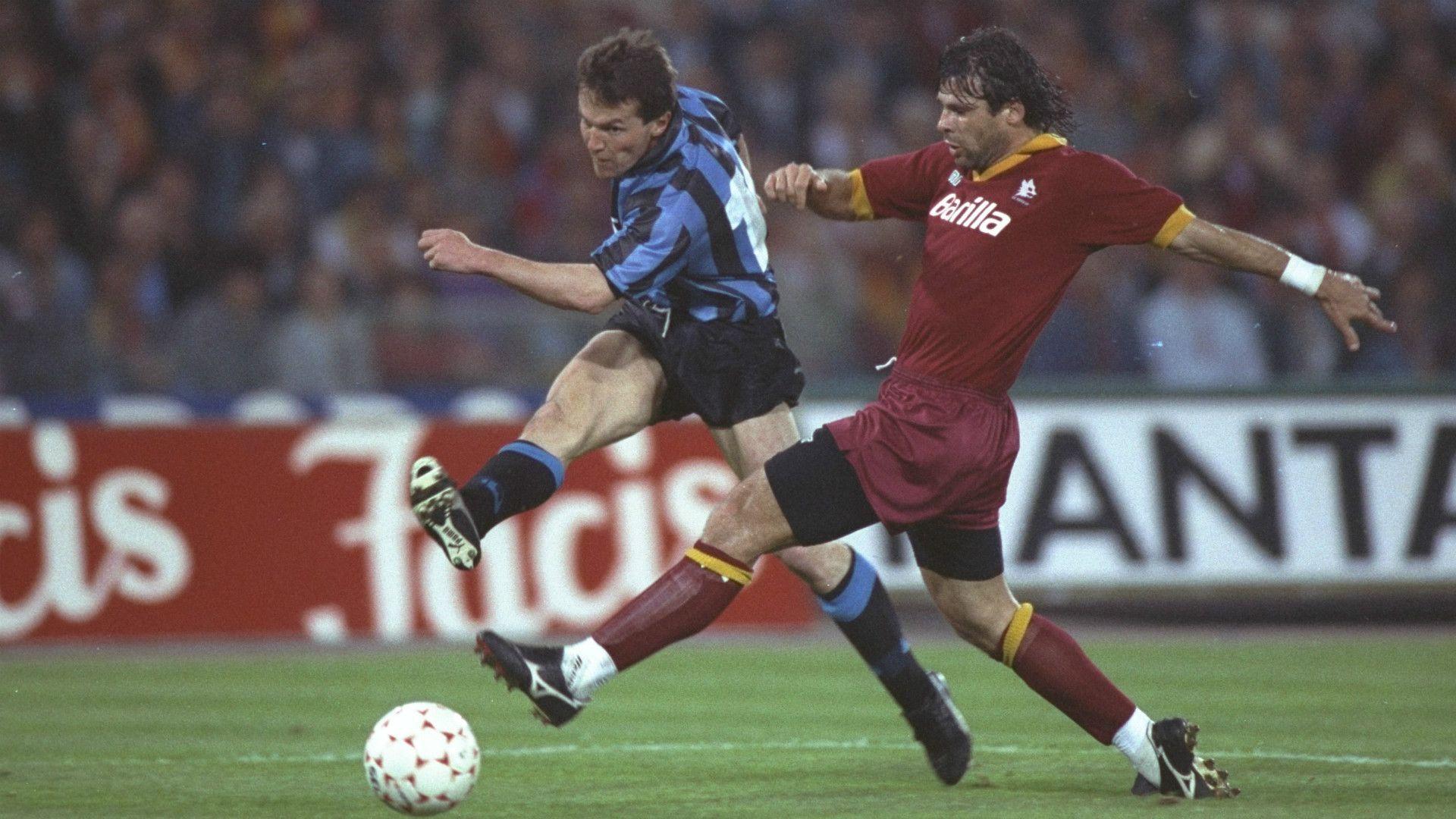 9ine Matthaus Inter De Milan As Roma Futbol