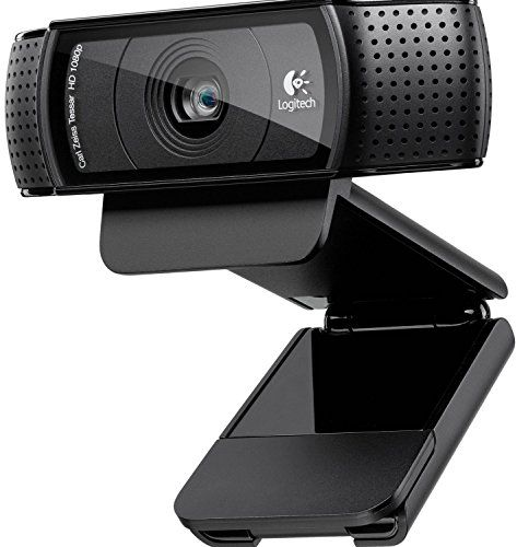 Logitech C920 HD Pro - Webcam Full HD (1080pm, sensor de 15 Mp), negro Logitech