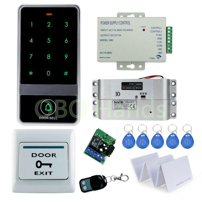 Password Door Access Control System Waterproof RFID Card Door Drop Bolt Lock
