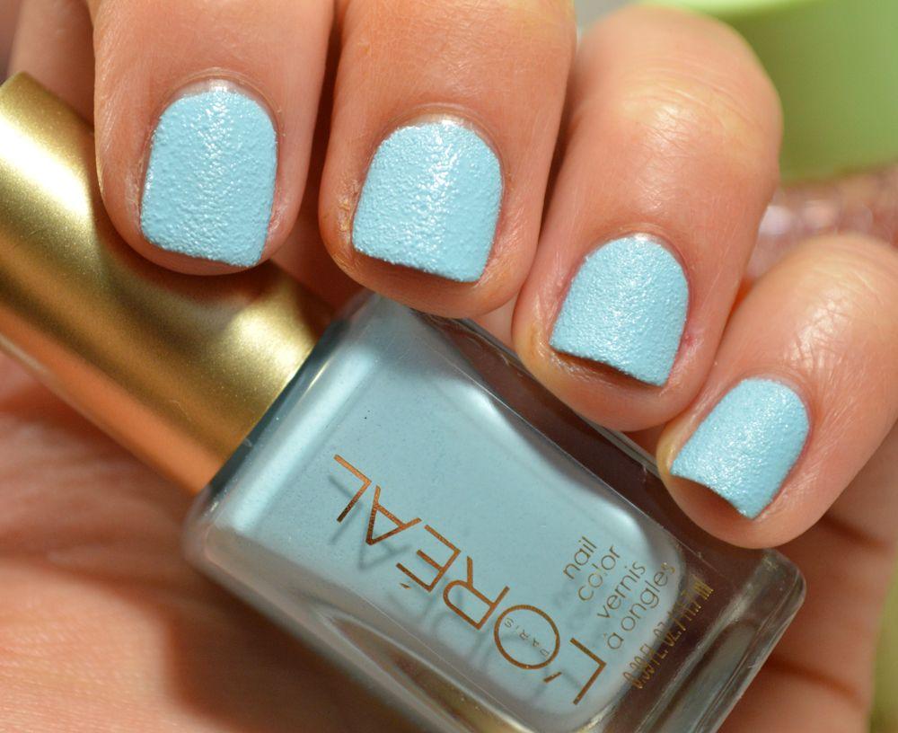 L\'Oréal Paris Miss Denim Colour Riche Nail Collection in \'Distressed ...