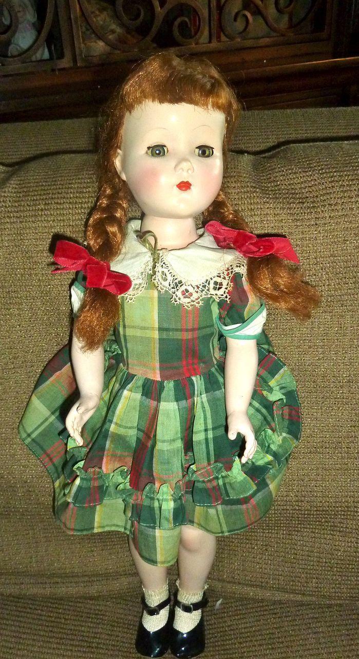"""~ 21"""" Hard Plastic Arranbee Walker Doll ."""