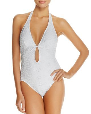 3891c307c4 KATE SPADE Plunge One Piece Swimsuit.  katespade  cloth  swimsuit ...