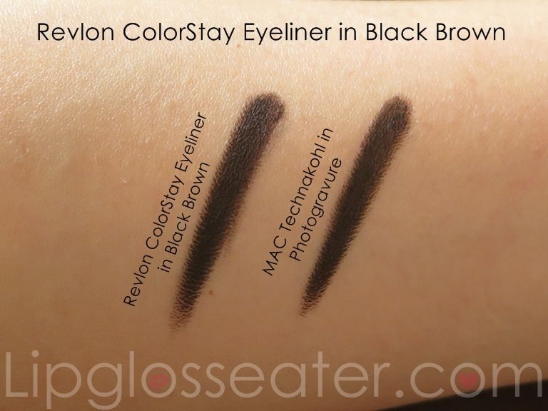 Revlon Colorstay Eye Liner Black Brown Bright Clear