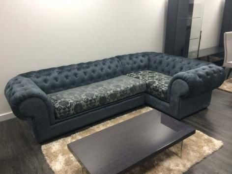 Contempo Chesterfield Fabric Corner Sofa Sale | Koltuk ...