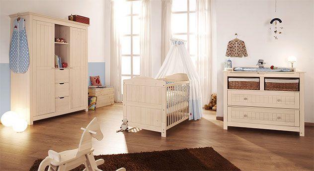 Epic Babyzimmer Julia Massivholz wei braun von massivum de Baby Nursery Pinterest Babyzimmer Braun und Kinderzimmer