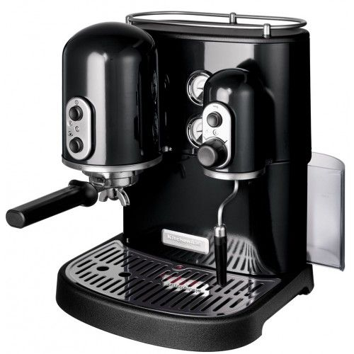 KitchenAid 5KES2102BOB Artisan Espresso Machine Onyx Black   Front