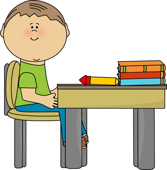 school boy at school desk clip art school pinterest school rh pinterest com  old school desk clipart