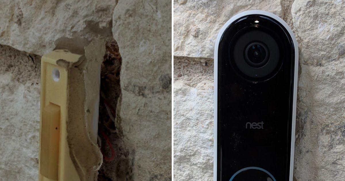 Nest Hello doorbell installation in Austin, TX\ Nest Hello