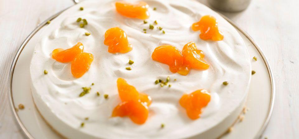 Philadelphia Philadelphia Torte Mandarine Vanille Rezepte Lebensmittel Essen Lecker