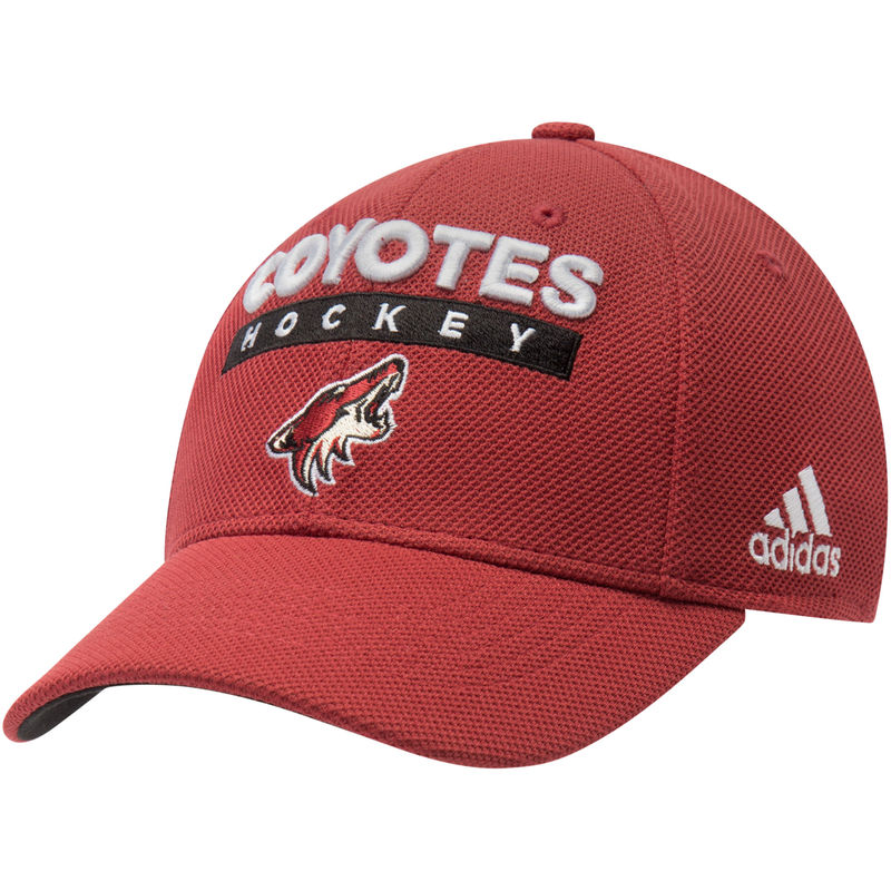 official photos b33c4 e39c5 ... aliexpress arizona coyotes adidas 2018 stanley cup playoff participant  structured flex hat garnet b27b9 a972a