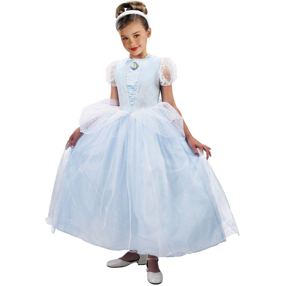 Costume Store - Cinderella Ball Gown Deluxe (Disney) Kids Costumes ...
