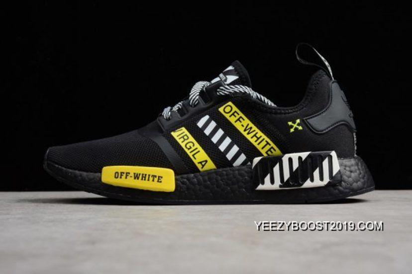 Adidas Sneaker NMD R1, BlackWhite.