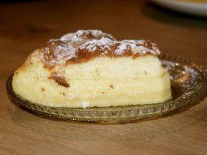 The Famous gâteau magique à la vanille