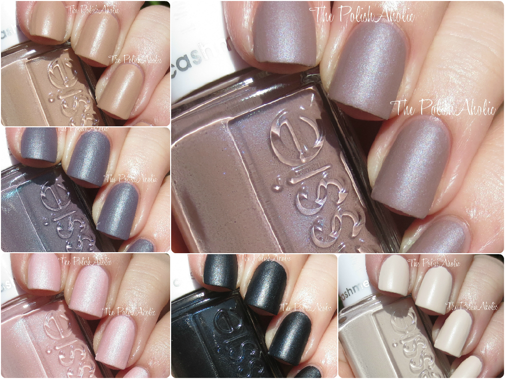 Essie Cashmere Matte Collection Swatches | New in beauty | Pinterest ...