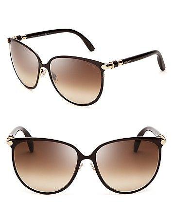 76b0d3ae26 Jimmy Choo Juliet Cat Eye Sunglasses