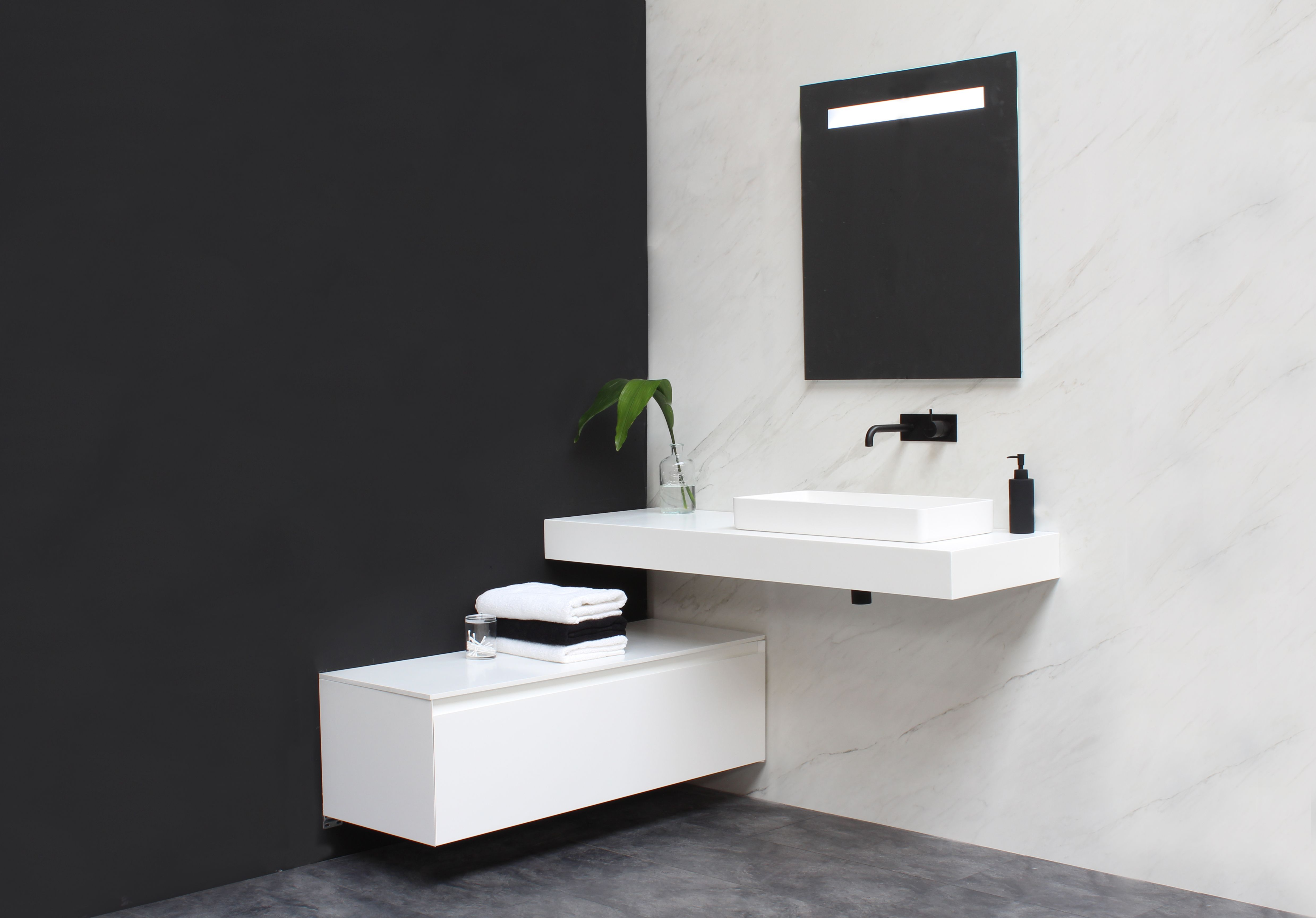Bliss e viva badkamer bathroom design modern clean