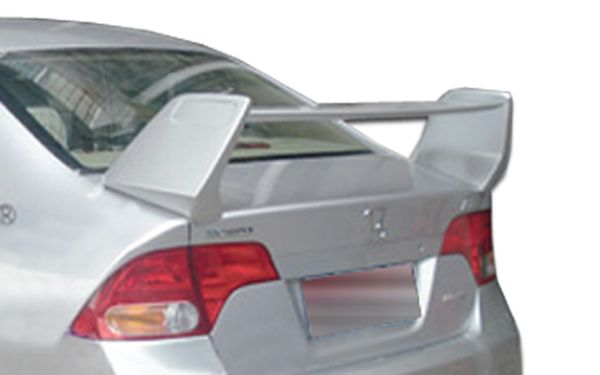 Duraflex 06 11 Honda Civic 4dr R Spec Wing Trunk Lid Spoiler Kit Coches Tuneados