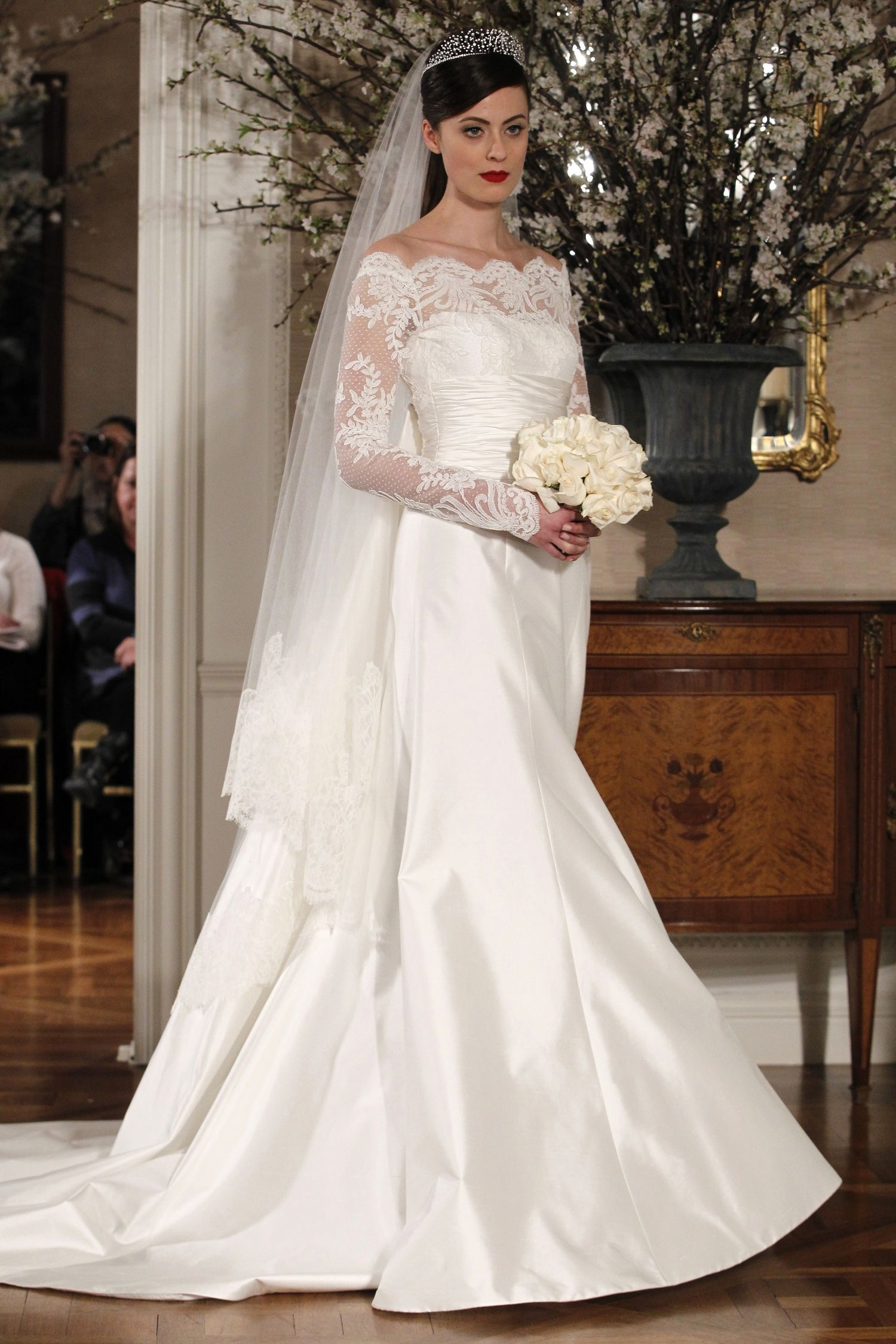 35 Wedding Gowns With Sleeves | Beautiful, Satin and Dresses with ...