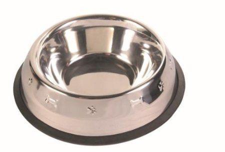 Trixie 24873 Napf mit Prägung, 1,8 Liter/ø 20 cm, edelstahl: Amazon.de: Haustier