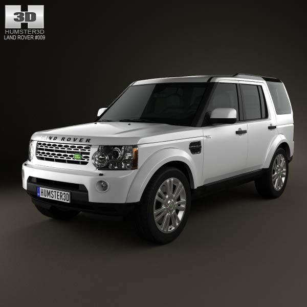 Land-Rover Discovery 4 (LR4) 2012 3d Model From Humster3d